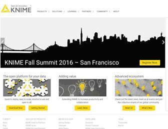 knime.com screenshot