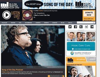 kexp.org screenshot