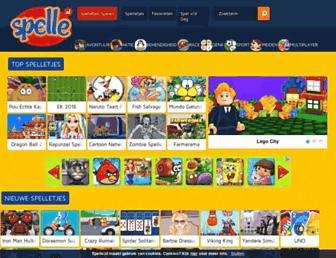 spelle.nl screenshot