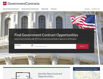 governmentcontracts.us screenshot