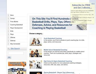 breakthroughbasketball.com screenshot
