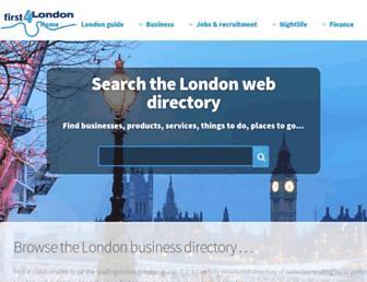 first4london.com screenshot