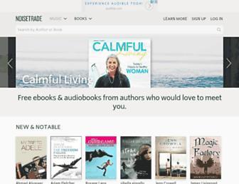 books.noisetrade.com screenshot