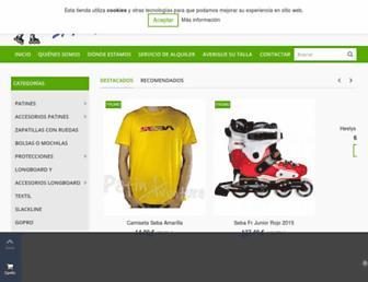 tiendapatines.es screenshot