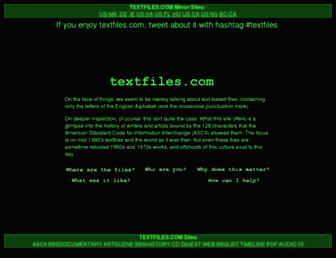 Thumbshot of Textfiles.com