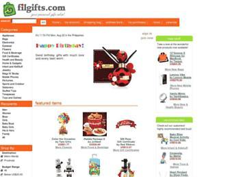 Screenshot for filgifts.com