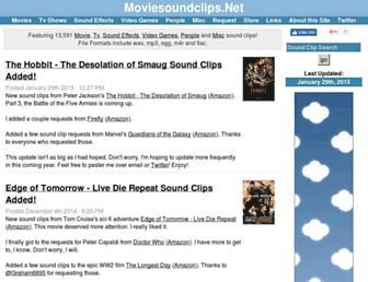 moviesoundclips.net screenshot