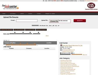 thaijobcenter.com screenshot