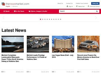 Thumbshot of Thenewsmarket.com