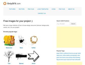 onlygfx.com screenshot