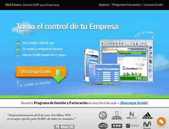 egafutura.com screenshot