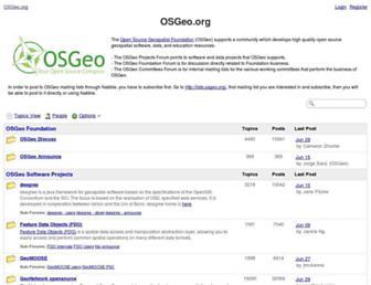 osgeo-org.1560.x6.nabble.com screenshot