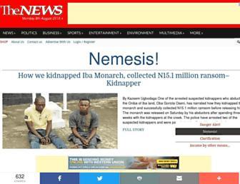 thenewsnigeria.com.ng screenshot