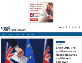 Thumbshot of Smallbusiness.co.uk