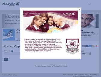 Thumbshot of Almahaairwayscareers.com