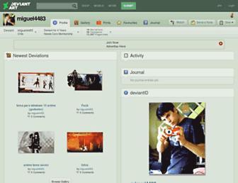 miguel4483.deviantart.com screenshot