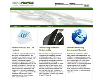 Thumbshot of Emailprovide.com