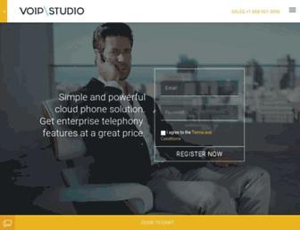voipstudio.com screenshot