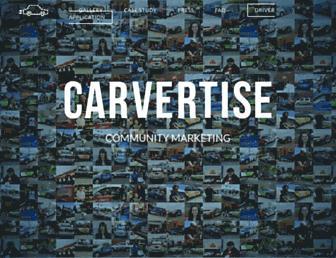 carvertise.com screenshot