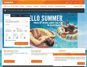 Thumbshot of Easyjet.com