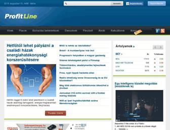 profitline.hu screenshot