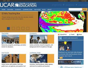 scied.ucar.edu screenshot