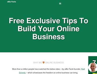 ebizfacts.com screenshot