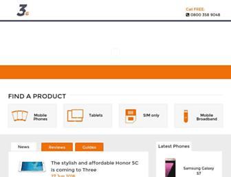 3g.co.uk screenshot