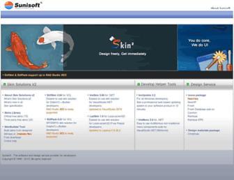 sunisoft.com screenshot