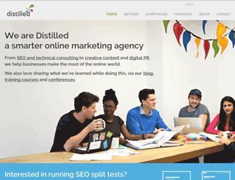 distilled.net screenshot