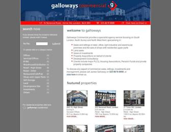 gallowayscommercial.co.uk screenshot