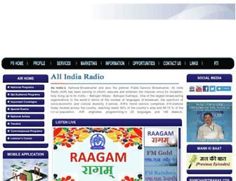 Fullscreen thumbnail of allindiaradio.org