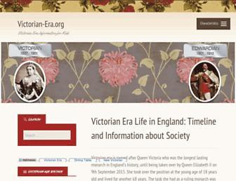 victorian-era.org screenshot