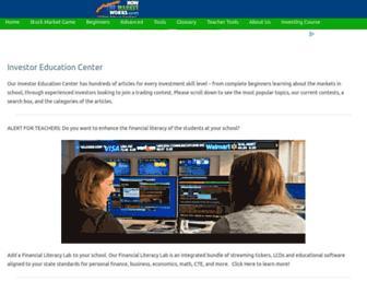 education.howthemarketworks.com screenshot