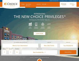 Thumbshot of Choicehotels.com