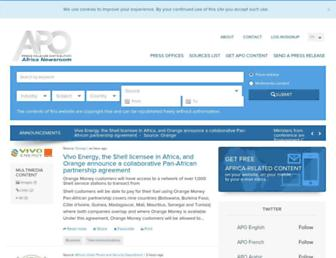 africa-newsroom.com screenshot