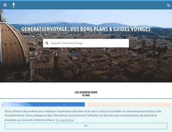 generationvoyage.fr screenshot