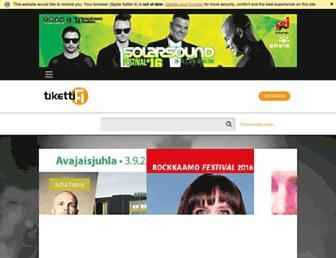 tiketti.fi screenshot