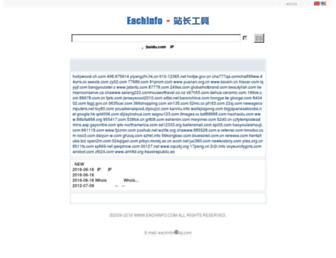 Thumbshot of Eachinfo.com