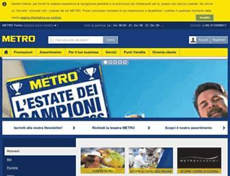 metro.it screenshot