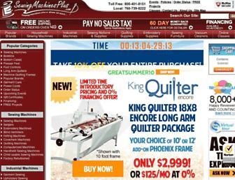 Thumbshot of Sewingmachinesplus.com