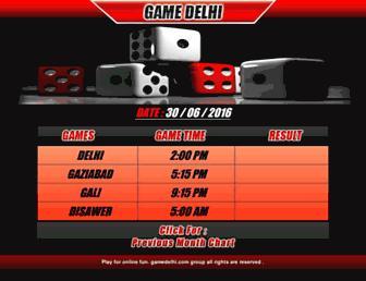 gamedelhi.com screenshot