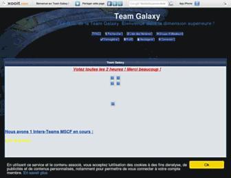 teamgalaxy.xooit.com screenshot