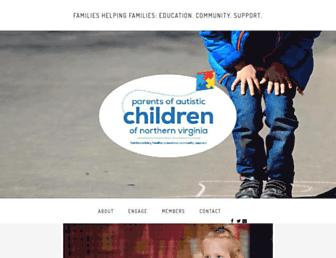 Main page screenshot of poac-nova.org