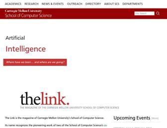 link.cs.cmu.edu screenshot