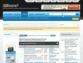Thumbshot of Sqaforums.com