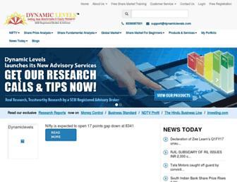 dynamiclevels.com screenshot