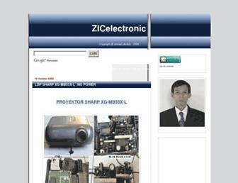 zicelectronic.blogspot.com screenshot