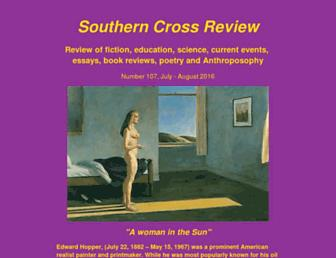 southerncrossreview.org screenshot