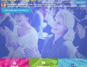 readfest.org screenshot